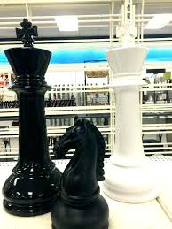 oversized chess pieces set custom sets large teak big for decoration how to wood p the green man great oversized chess set