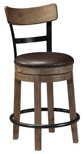 upholstered swivel bar stools. Signature Design By Ashley Pinnadel Upholstered Swivel Barstool - Item Number: D542-124 Bar Stools S