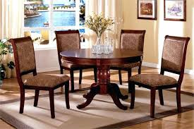 striking 48 round dining table with chairs 48 inch round pedestal dining table set
