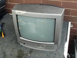 panasonic crt tv. scrapping a crt tv - panasonic tc-14s15a crt tv s