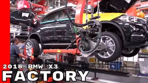 BMW Convertible bmw x3 manufacturing plant : 2018 BMW X3 Factory Assembly Plant - YouTube
