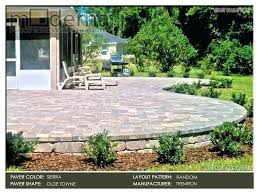 raised paver patio raised patio a large patio raised by retaining wall surrounded by new landscaping raised paver patio