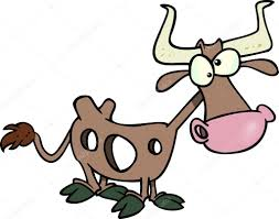Cartoon Holy Cow Stock Vector Image by ronleishman #13982413