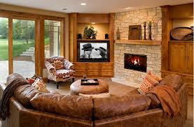 when and how to place your tv in the corner of a room corner tv living room ideas