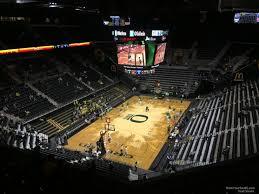 Matthew Knight Arena Section 207 Rateyourseats Com