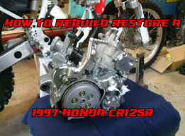 1997 Honda Cr125 Engine