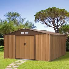 outsunny 13ft x 11ft outdoor garden