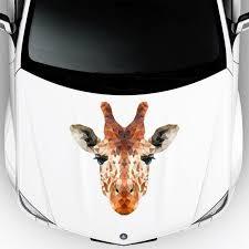 <b>Giraffe Car Decal</b>. Car Hood Decals. Polygon <b>Animals</b>. Car Vinyl ...