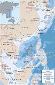 South China Sea Sea Pacific Ocean Britannica
