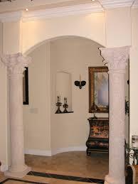 interior design large size modern elegant design of the decorating pillars thathas white nuance can beautiful living room pillar