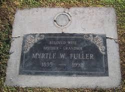 Myrtle Walker Fuller (1895-1992) - Find A Grave Memorial