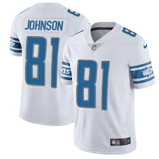 Calvin Lions Jersey Youth Detroit Johnson