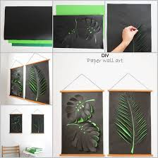 easy paper leaf wall art tutorial on paper wall art tutorial with easy paper leaf wall art tutorial usefuldiy