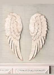 angel wing wall decor