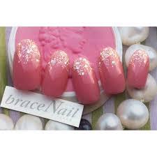 ピンクラメグラ Brace Nailブレスネイルのネイルデザイン ネイル