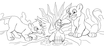 Small Picture The Lion King 2 Coloring Pages Virtrencom