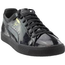 puma clyde wraith sneakers black mens