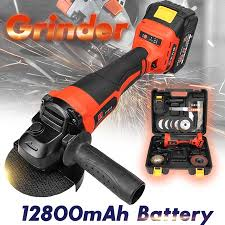 Rechargable <b>21V Cordless Brushless</b> Grinder with 3.0Ah Lithium Li ...