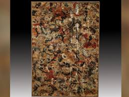 photo this painting believed to be an original jackson pollock may be worth