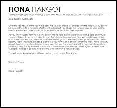 Client Appreciation Letter Letter Template