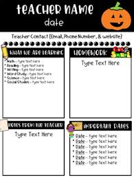 Newsletter Free Templates Classroom Newsletter Templates Free By Ginger Snaps Tpt