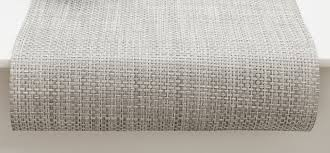 chilewich  table  placemats  runners  basketweave  white