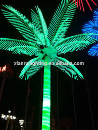 artificial palm tree with light china manufacturer outdoor lighted