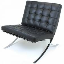 faux barcelona chair. Barcelona Chair Replica Mies Van Der Rohe Original Knoll Reproduction - 6 Ways In Faux 2