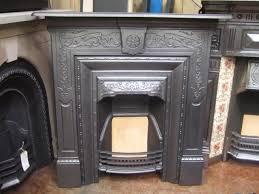 163lc original victorian cast iron fireplace