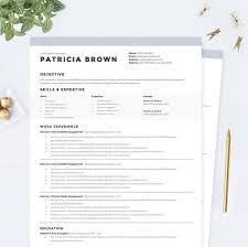 Traditional Resumes Premium Microsoft Word Resume Templates