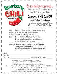 chili cook off judging sheet arizona centennial in quartzsite quartzsite chili cook off rules