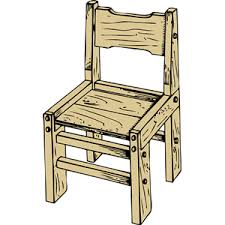wooden chair clipart. Fine Wooden Inside Wooden Chair Clipart WorldArtsMe