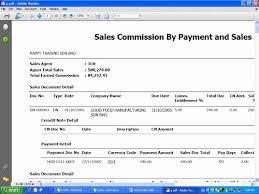 Autocount Sales Commission