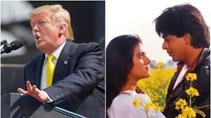 donald trump mentions ddlj in sch