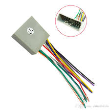 leewa car cd player radio audio stereo wiring harness adapter plug 100 Disc CD Changer at Cd Changer Wire Harness