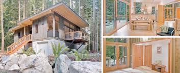 Small Picture Prefab Modern Cabin Home Design Ideas