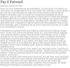 pay it forward essays pay it forward essay scholarship essay final round marketing pay it forward essay scholarship essay final round marketing