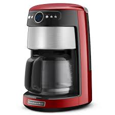 incredible get the scoop and dish it out red kitchenaid coffee maker picture