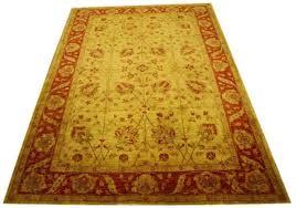 oriental rug ziegler stan 287x210 cm 100 wool hand knotted gold