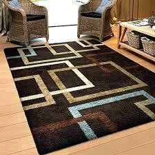 black and brown rug blue brown rugs area rug geometric linked in mocha x orange chocolate black and brown rug