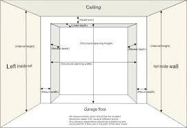 garage door heightDelightful Ideas Garage Door Dimensions Extraordinary Design Sizes