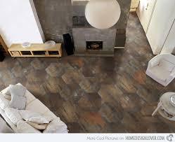 living room tiles design. honeycomb pattern living room tiles design o