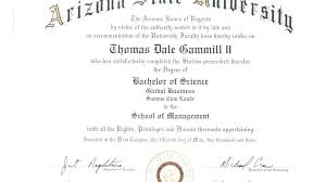 Sample Doctoral Degree Certificate Copy Phd Template