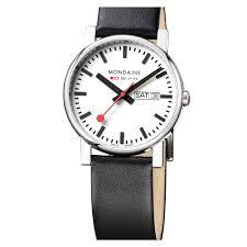 henry london men s pimlico leather strap watch 38mm watches121 mondaine men s evo lution leather strap
