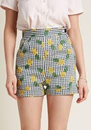 High Waisted Shorts Pattern