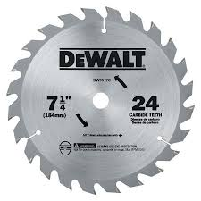 dado blade lowes. dw3577c 7 1/4-in 24-tooth thin-kerf framing saw blade dado lowes