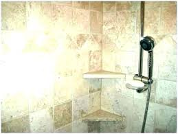 ceramic shower shelf tile niches niche insert marble tiling corner home depot
