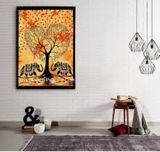 small wall hanging elephant tapestry