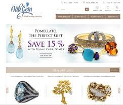 1970s Jewellery Designers Elegant Serious Jewelry Logo Design For Oakgem Fine