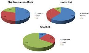 Keto Diet Pie Chart Cyclical Ketogenic Diet Ketogenic